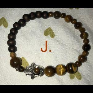 J. Tigers Eye Sacral Chakra Balancing Bracelet